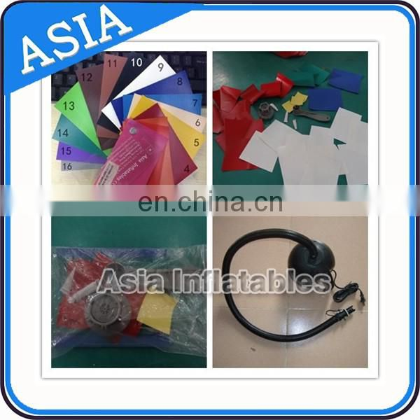 0.6mm PVC Tarpaulin Inflatable Bunker Mobbile Laser Tag For Sale
