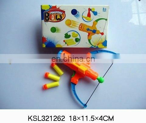 eva soft bullet gun plastic bow and arrows