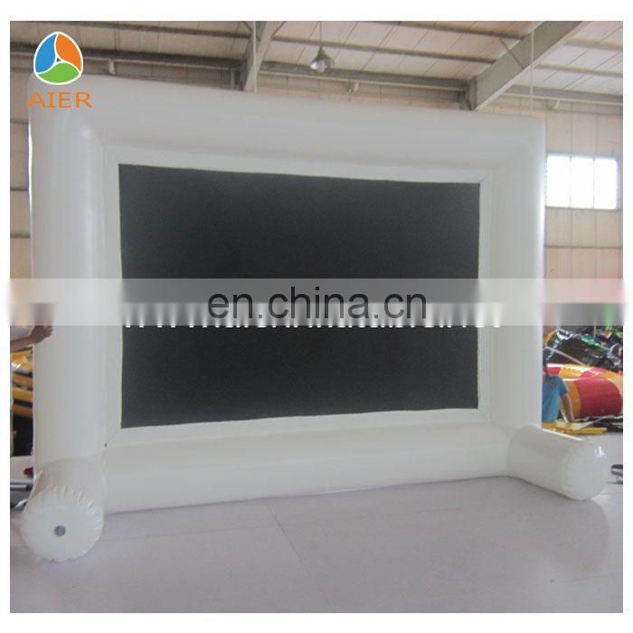 new style white inflatable movie screen, inflatable screen