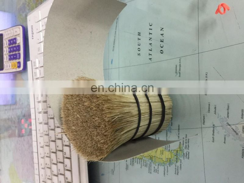 White Boiled Bristle Brush