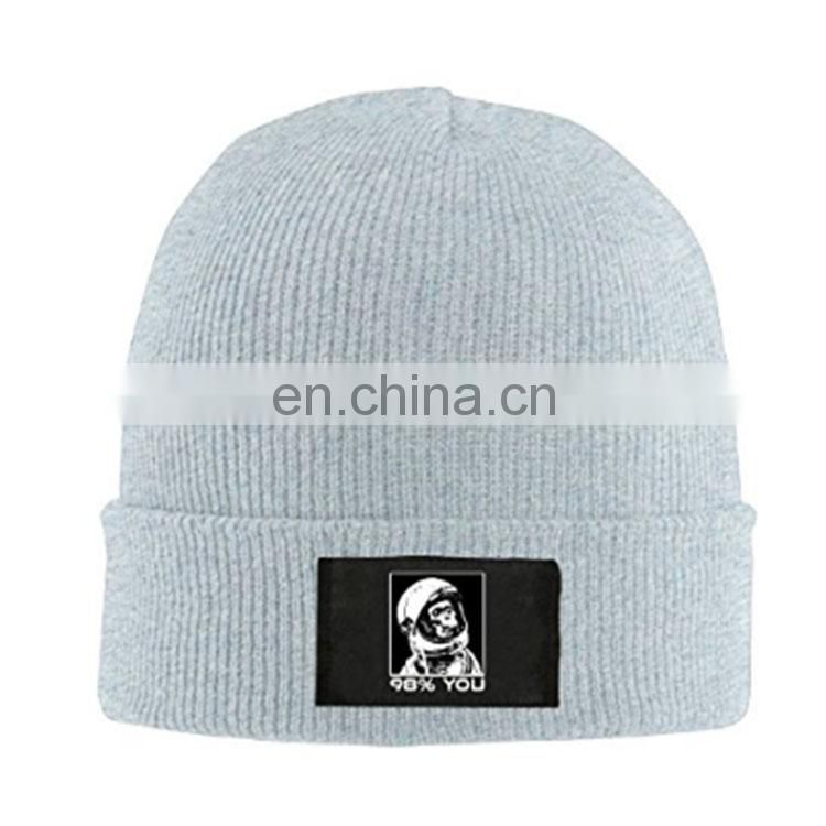 2017 New Arrival Best selling custom knit beanie hat
