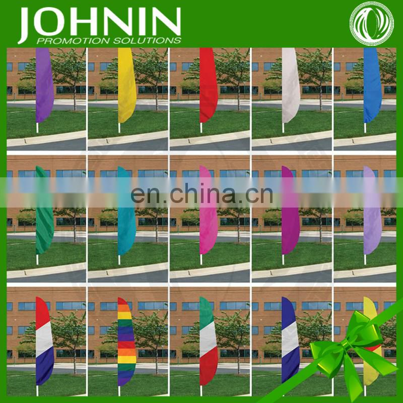 Free design factory direct polyester outdoor feather flag