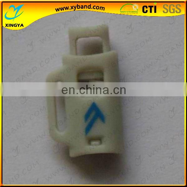 Single Hole Plastic Elastic Cord Lock With Spring Of Apparel