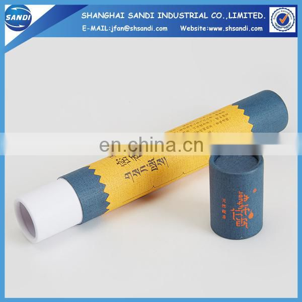 Promotional custom packing paper tube box