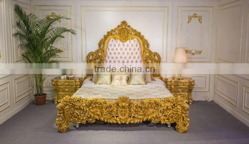 Luxury European French Style Bedroom Furniture Set, Antique ...