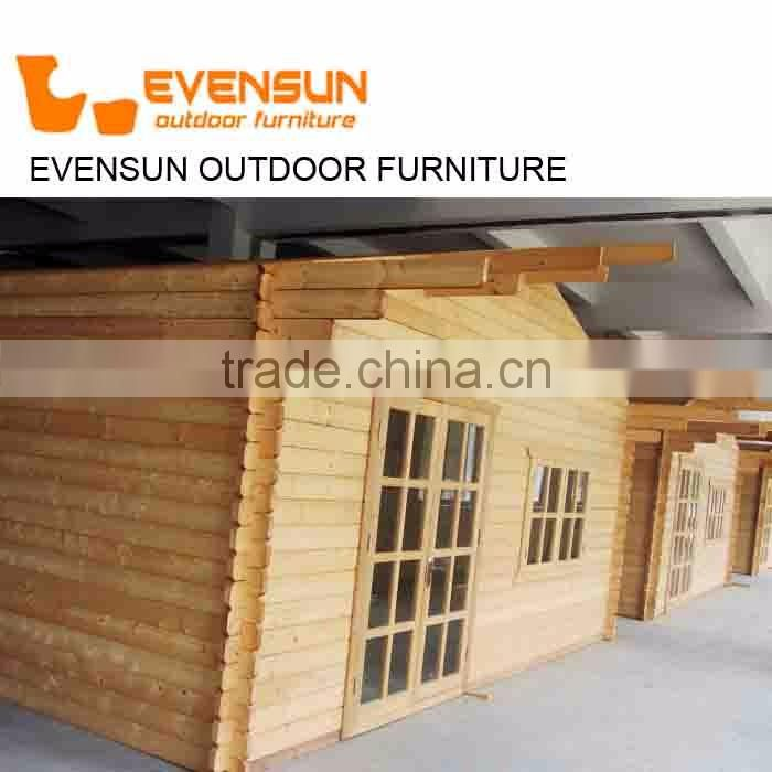 Wholesale Price Double Floor Leisure House Russian Pine Wood Log House