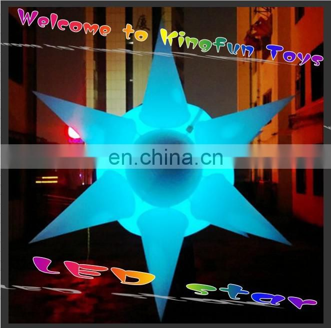 Lighting inflatable wedding flower for event