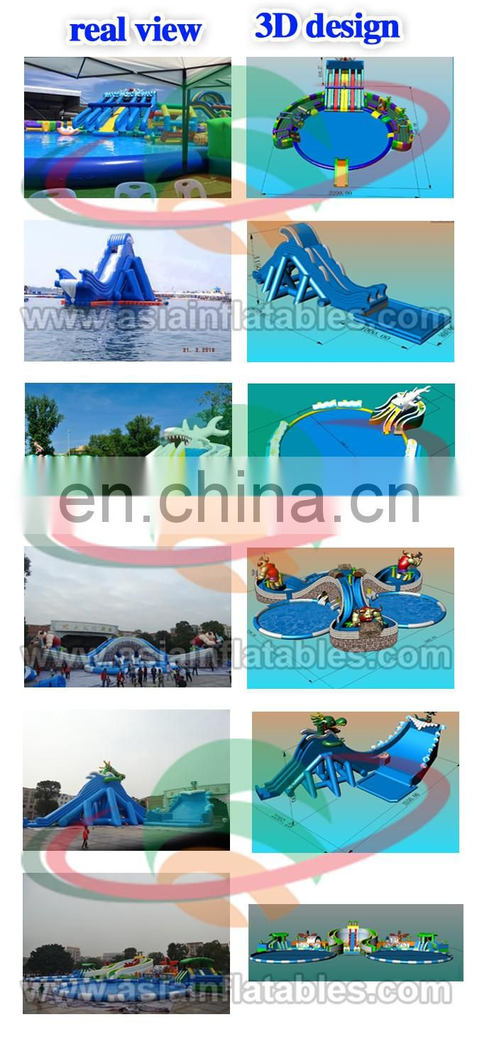 Inflatable Water Park Prices / Mobile Jungle Giant Inflatable Water Park