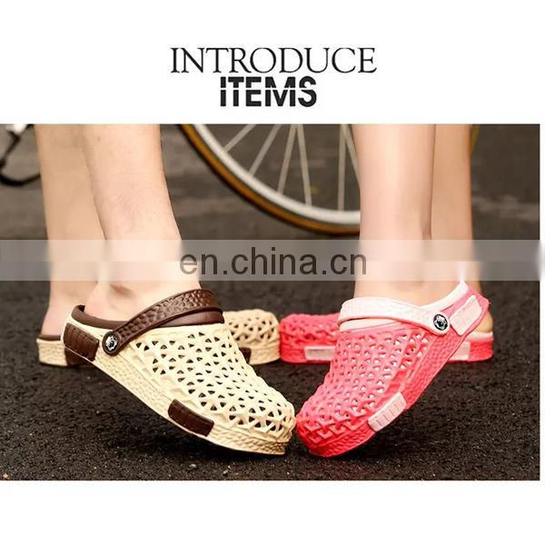 Summer fashion women sandals cool beach slippers, anti slip pink couples slippers, rainy shoes 36 Yards