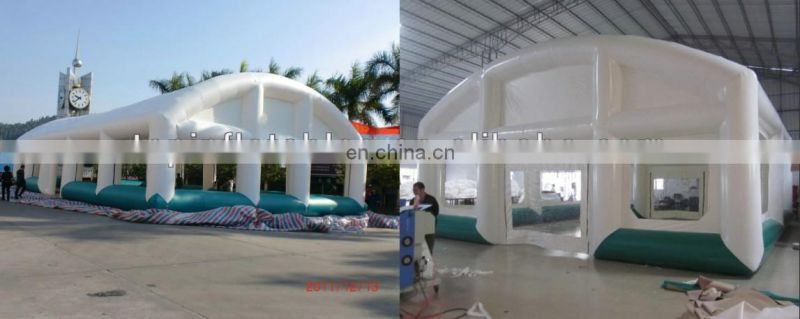 Tunnel inflatable big court covering inflatable tunnel event long tent