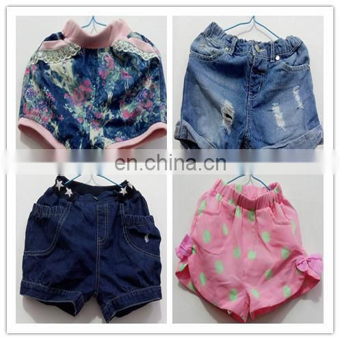 Jeans in kg mixed Second hand children jeans trousers and shorts