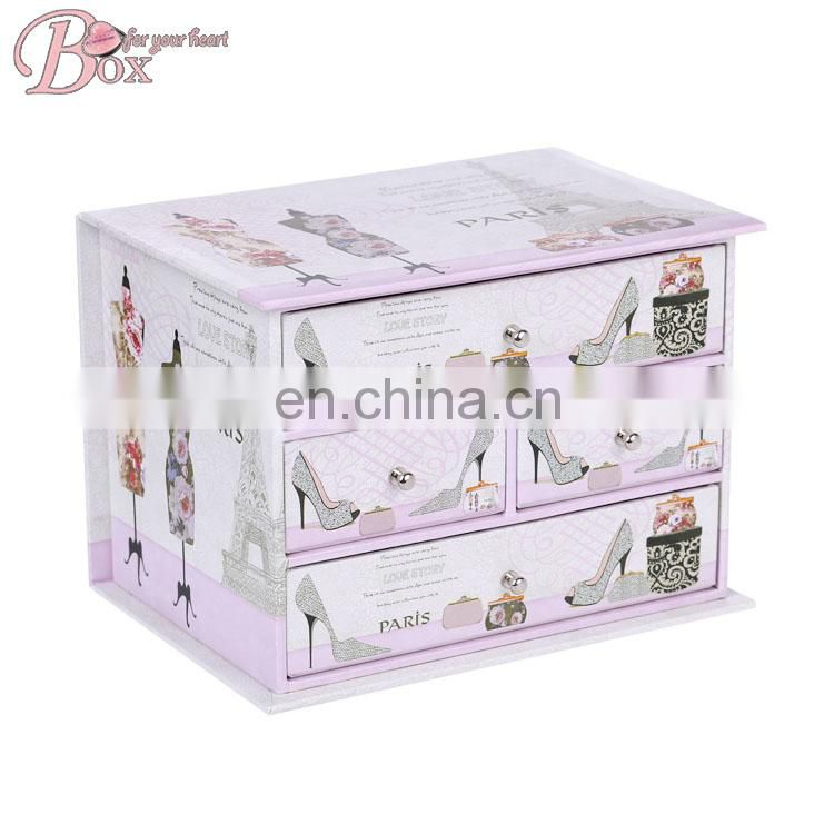 High Quality Cardboard Stationery Set with Drawer