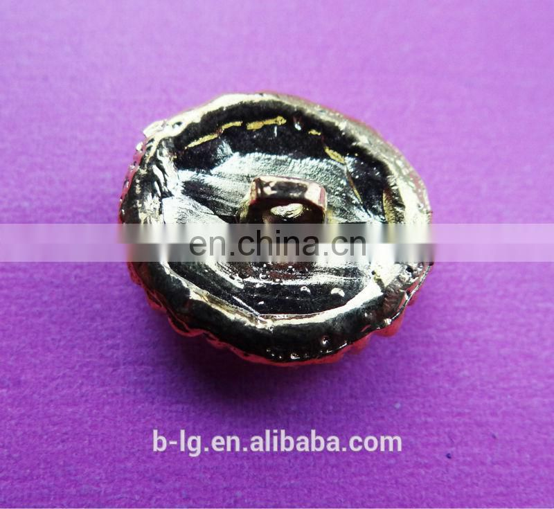 shinning bailange acrylic china bulk wholesale pearl and crystal rhinestone fashion button for garment