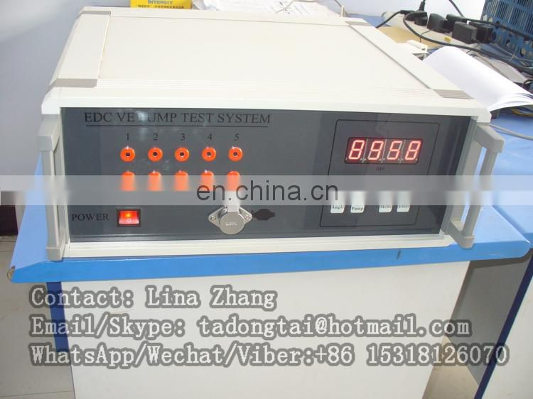 diesel injection pump tester for EDC VE pump