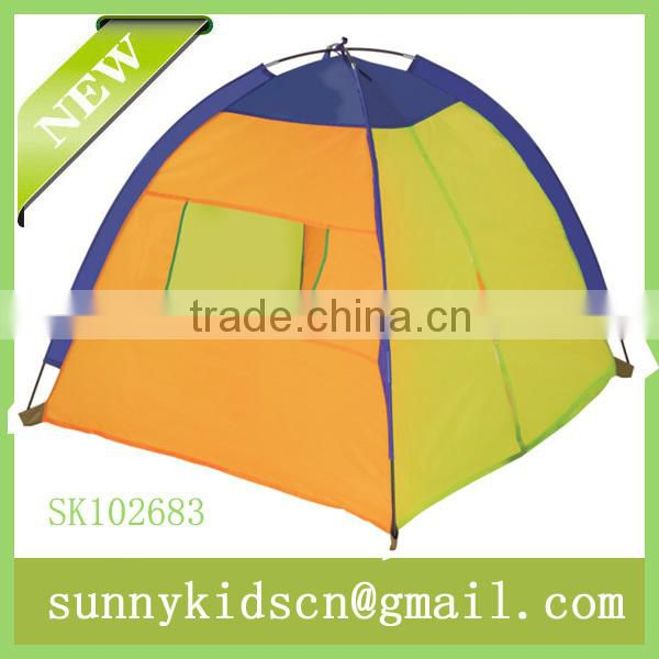 foldable fabric 4surface children tent for play