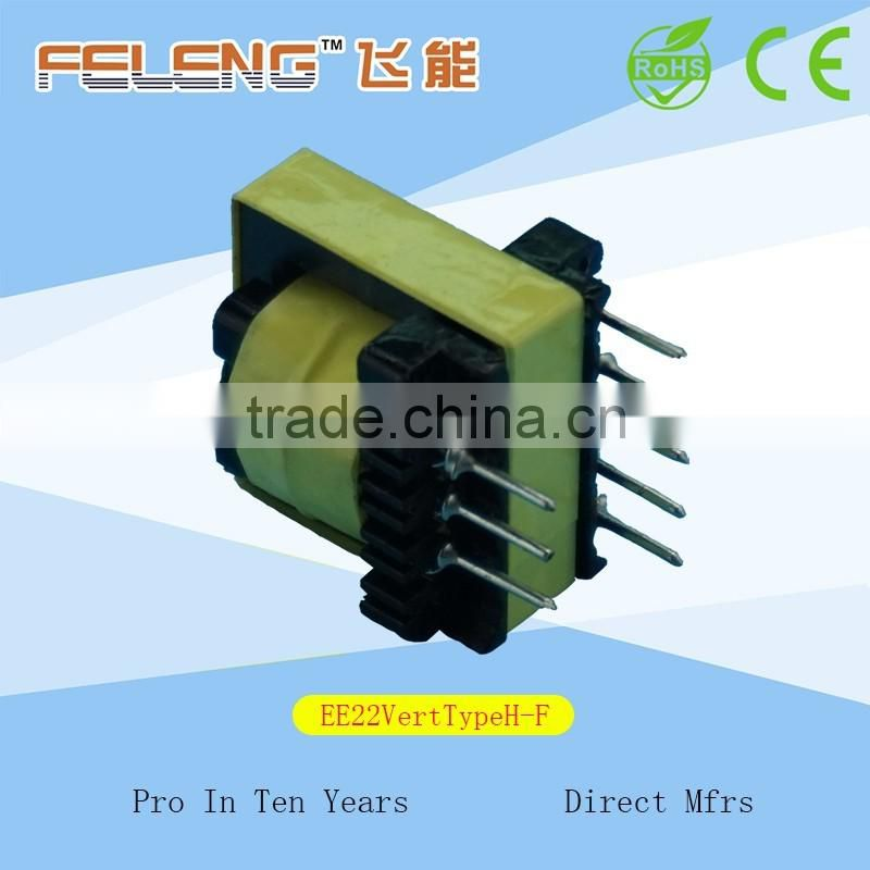 EE22 Vertical Type High Frequency Transformer