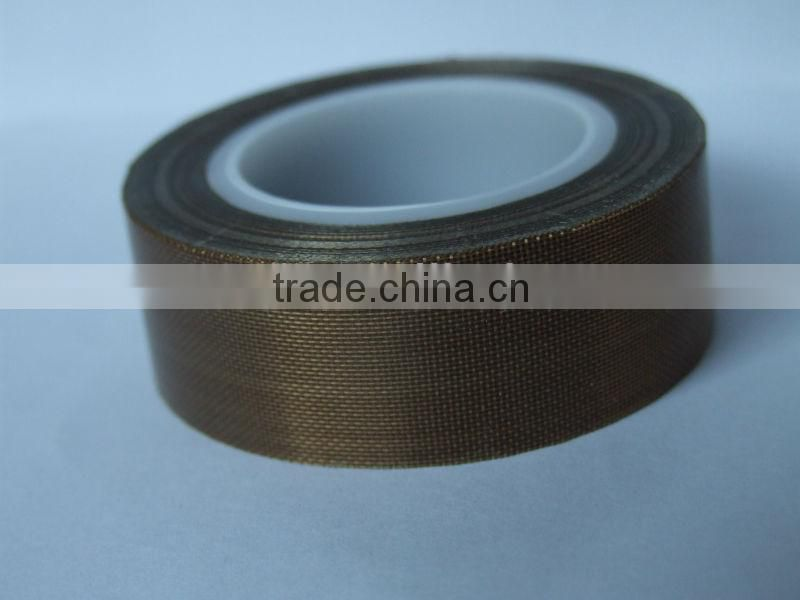 Thermoplastic with heat resistance PTFE coated fiberglass adhesive tape