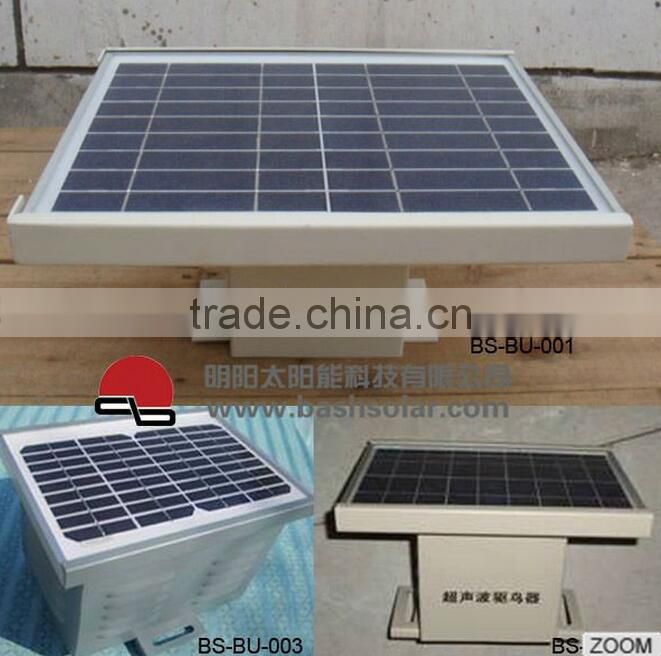 9V 5W solar panel ultrasonic bird repeller