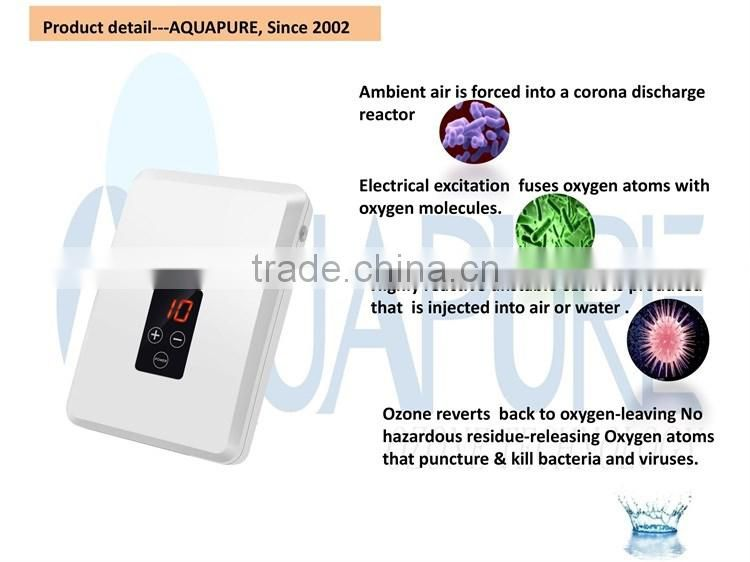 Ozone disinfection system for ozone water purifier machine