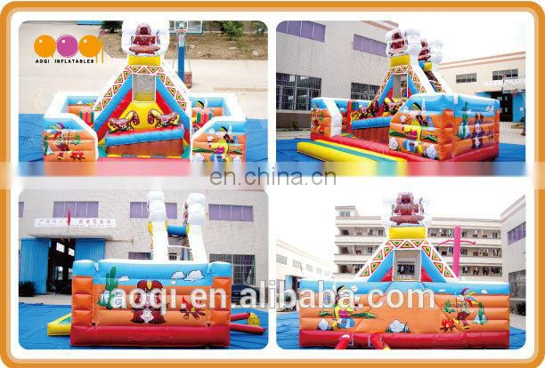 AOQI new design totem style jumping toys Inflatable bouncer