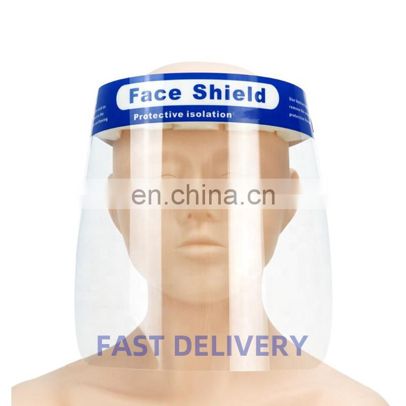 OEM Factory Sale Hot Product Film Single Use Safety Protective Full Face Shield