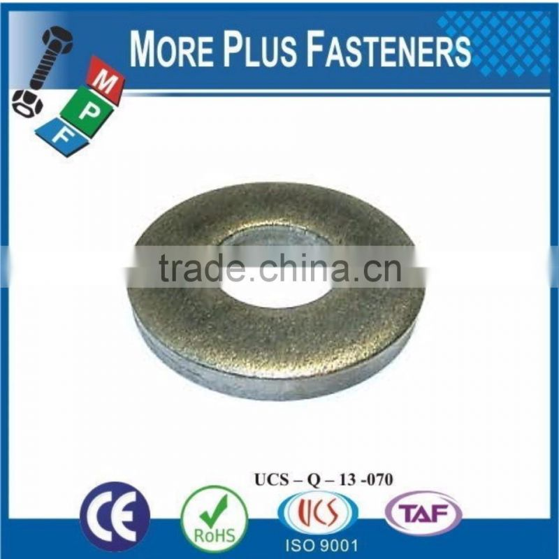 Made in Taiwan Custom Made Round Flat Washers Thick or Thin