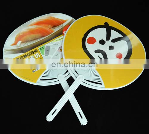japanese plastic manual hand fan