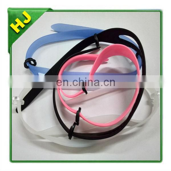 Silicone Adjustable Strap With Plastic Clip