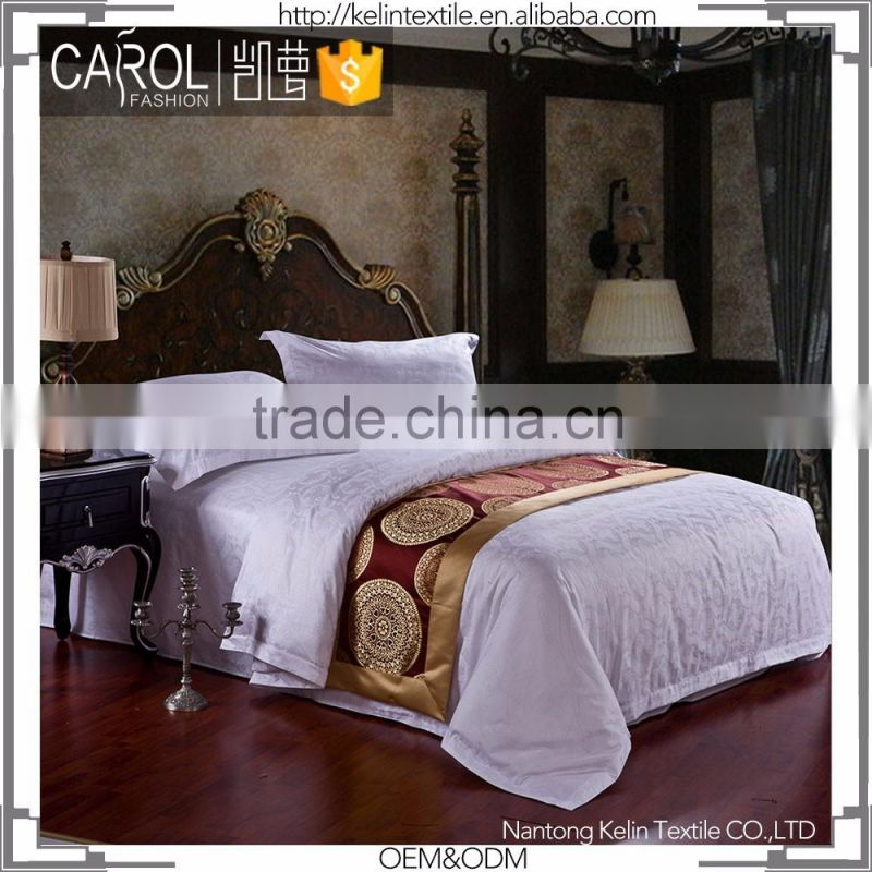jacquard cotton hotel bedding fabric
