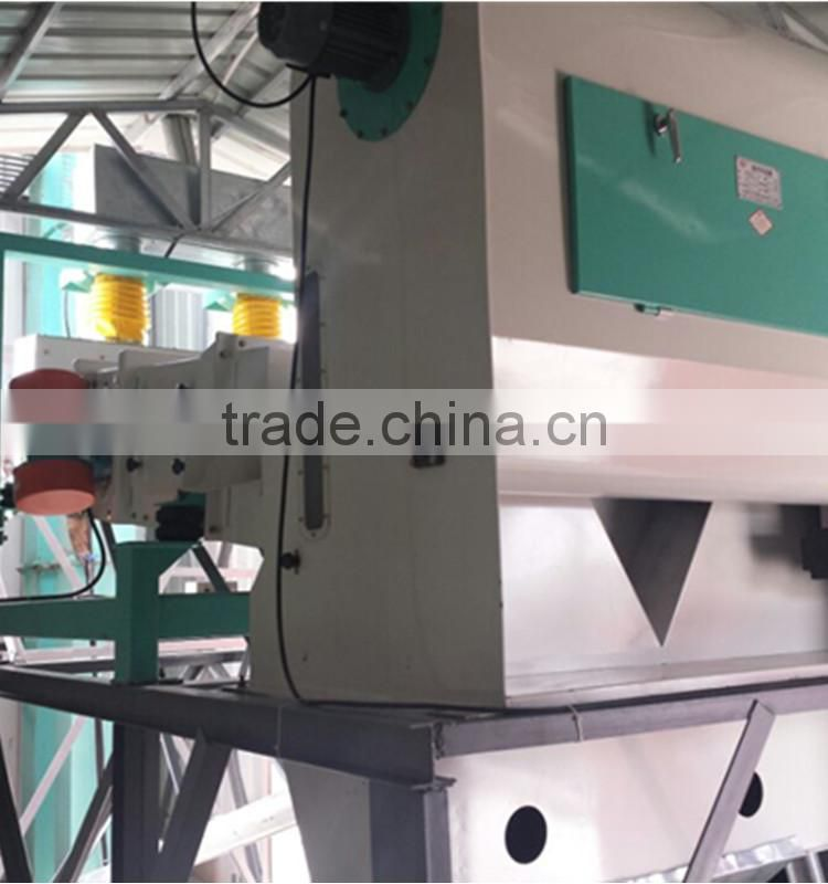 Multi-functional movable paddy corn seed separator machine