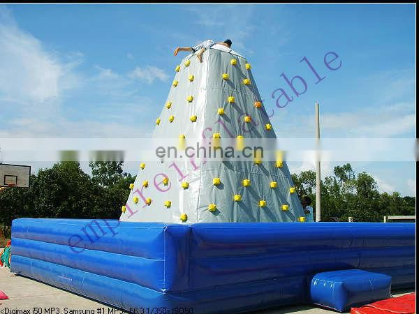The Egyptian pharaoh inflatable climbing wall