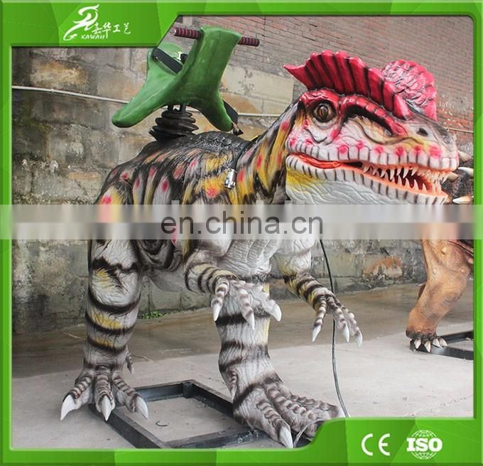 Hot sale Animatronic Dinosaur Walking Animals Kiddie Rides