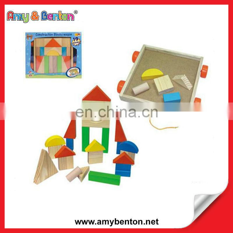 Hot Selling Educational House Building Bolcks Wooden Toys for Kids