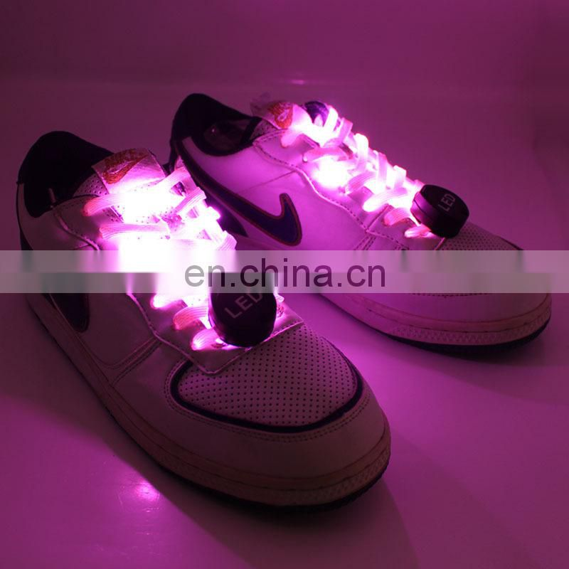 NEW light up led shoelace electric shoelaces rechargable led shoelace