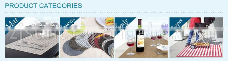 Eco-friendly colorful matts placemat made in China