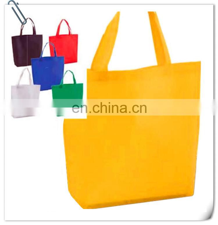 new Custom non woven shopping bag with color full logo printing on full set of bag