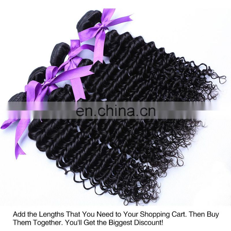 Qingdao hair factory kinky curly human hair