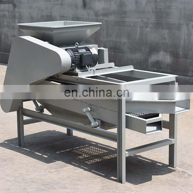 good quality almond cracker nuts cracking machine