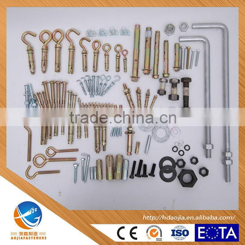 AOJIA ANCHOR made in china Sleeve anchor with hex nut/anchor bolt /expansion bolt for saudi arabia market