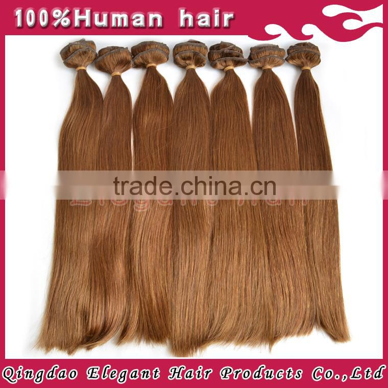 Best selling available in stock 100% brazilian human hair 20 inch clip in hair extension