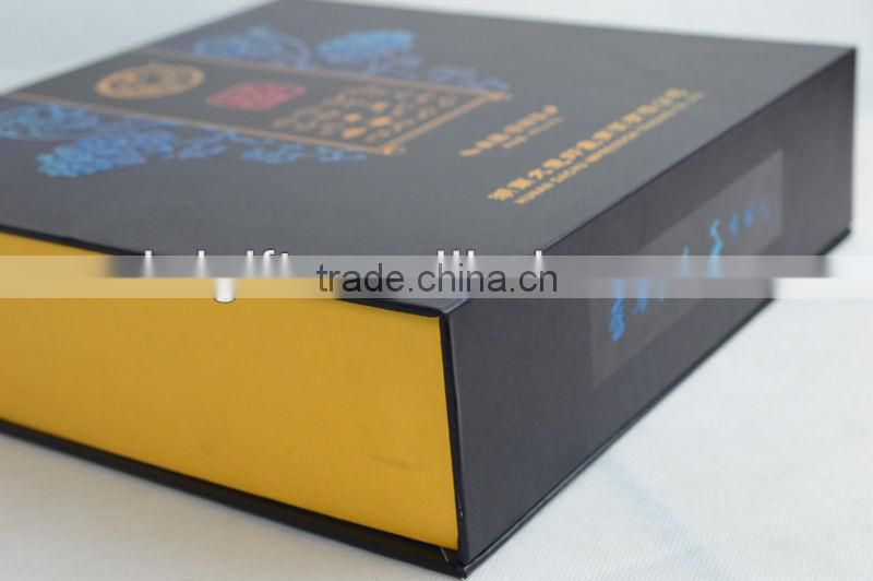 elegant custom cardboard mooncake packaging box with new design