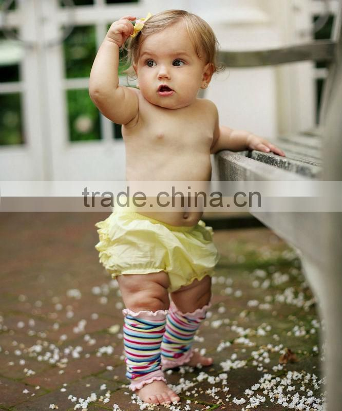 Toddle baby clothing cheap cotton pants baby swing set children diaper cover newborn girls cotton ruffle pants Image