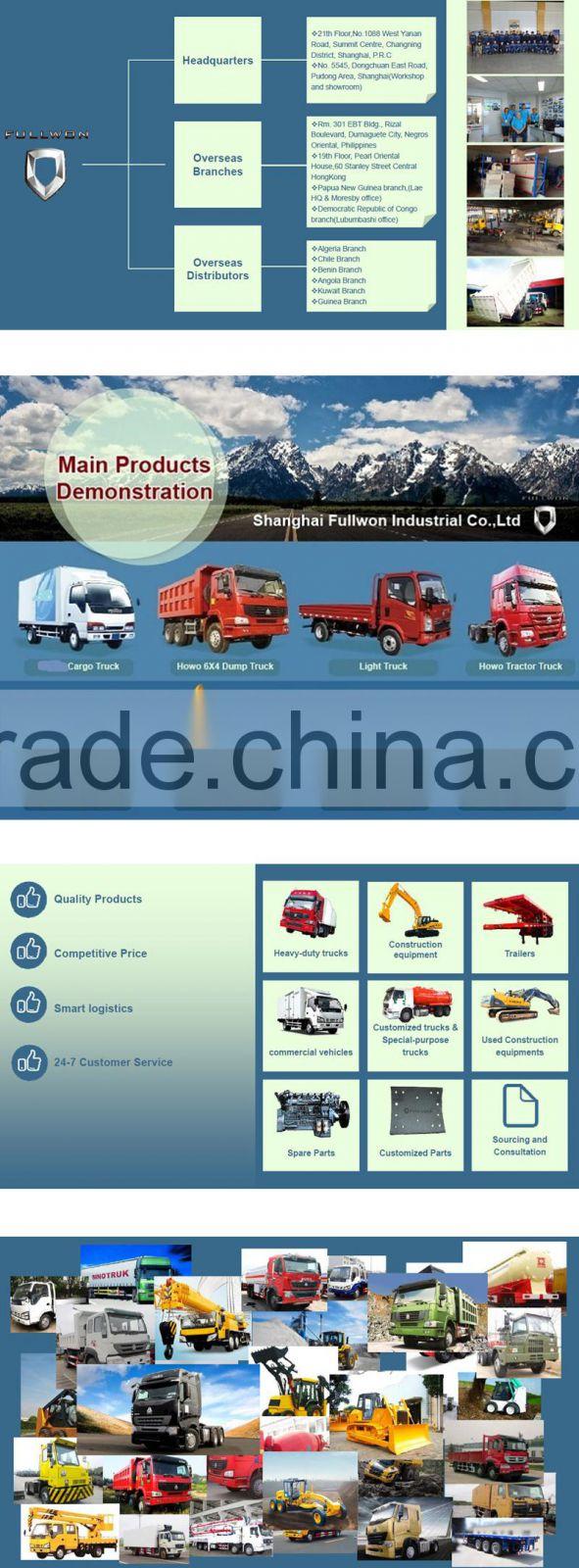 Manufacturer manual Sinotruk HOWO dump truck specification for sale
