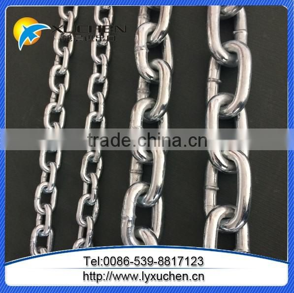 Ordinary Galvanized Mild Steel Link Chain For Protection.