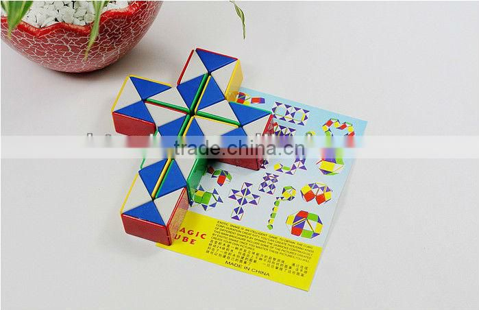 36 parts changeable foling puzzle magic ruler/ magic snake ruler