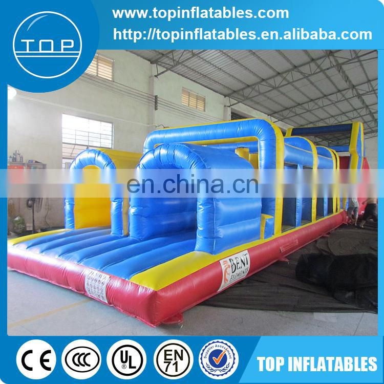 Outdoor toys giant inflatable obstacle course for kids