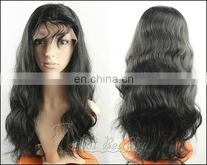Brazilian Virgin Hair Lace Wig, Curly Full Lace Human Hair Wigs Glueless