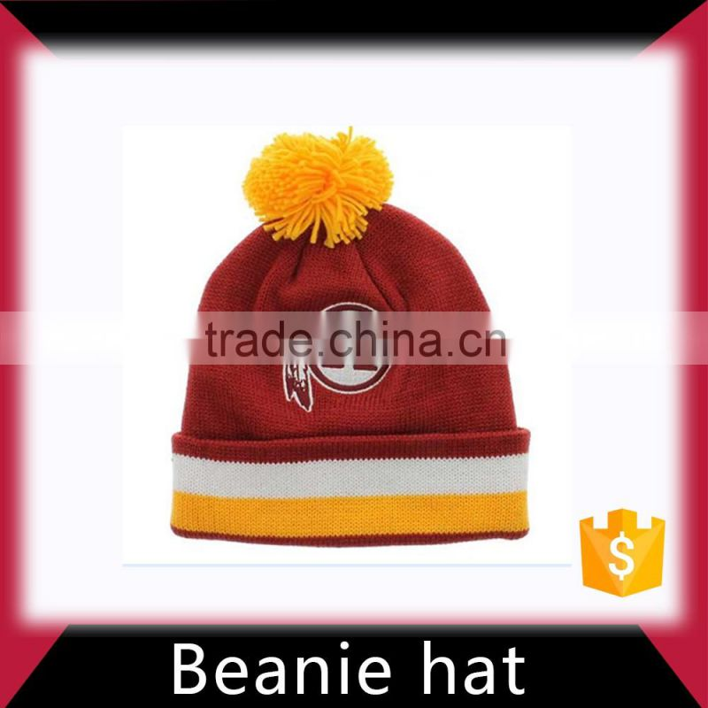 100% acrylic knitting winter cap made in China