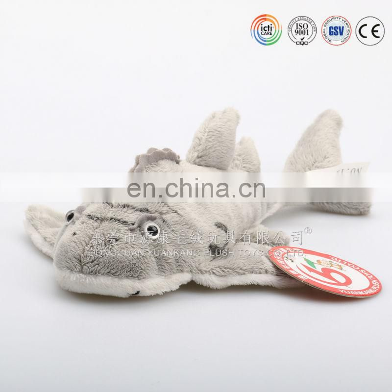 Best selling plush toys stuffed soft shark toy