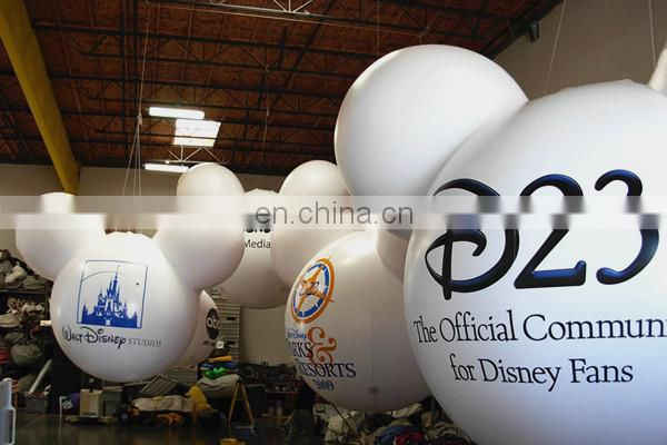 hanging Head shape Inflatable Mickey Balloon for party decoration